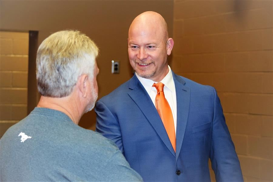 Midland Valley HS welcomes new head football coach Kenny Freeman.